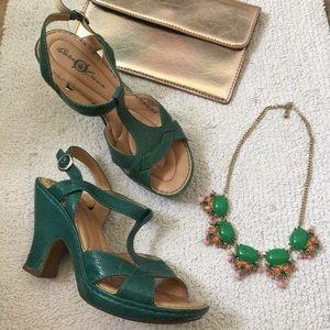 Born crown heeled sandals